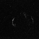 cygnus loop in ha,                                Marek Smiatacz