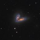 Siamese twins NGC 4567 and NGC 4568 + M58,                                Stephan Linhart