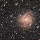 IC 342 - the Hidden Galaxy in Camelopardalis,                                Nurinniska
