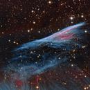 The Pencil Nebula  NGC 2736,                                Chris Parfett @astro_addiction