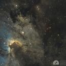 SH2-155 Cave Nebula,                                Graem Lourens