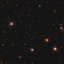 NGC 3610 and NGC 3642 in Ursa Major,                                Nurinniska
