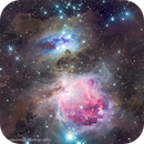 Orion and Running Man Nebulae,                                Dean Salman