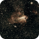 M17 Omega Nebula,                                Curt Lewis