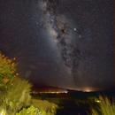 Milky Way from the Big Island of Hawaii,                                JDJ