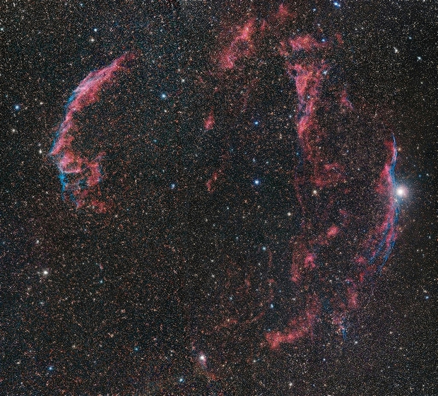 Veil Nebula, Mosaik,                                Big_Dipper