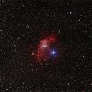 Bubble nebula NGC 7635,                                andyo
