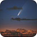 comet NEOWISE,                                Dickvantatenhove