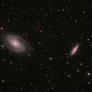 M81 & M82 Bode & Cigar galaxy in HaRGB,                                Kristof Dabrowski