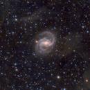 NGC 6951 (Barred Sprial Galaxy in Cepheus) with IFN in LRGB,                                Ben Koltenbah