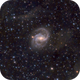 NGC 6951 (Barred Sprial Galaxy in Cepheus) with IFN in LRGB,                                Ben Koltenbah