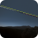Lunar Eclipse and Moncayo,                                Txema Asensio
