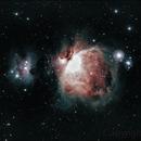 Orion Nebula,                                George C. Lutch