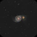 M51 Whirlpool Galaxy,                                Dan Pelzel