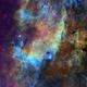 VdB 130 Hubble Palette,                                Eric Coles (coles44)