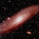 The andromeda galaxy,                                Enrique