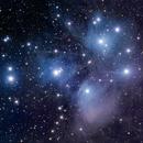 M45 - The Pleiades,                                Wes Chilton