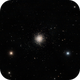 M13  -  The Great Cluster in Hercules,                                lfhenry