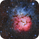 M 20 The Trifid Nebula Up Close,                                Tom Peter AKA Astrovetteman