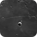The Straight Wall (Rupes Recta), Rima Birt and the crater Birt in the Mare Nubium,                                DWS 23