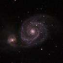 Whirlpool Nebula M51,                                Michael Mantini