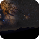 Southern Milkyway over Mountains,                                Arno Rottal
