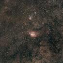 28 180 secs unguided subs on Sagittarius area taken on the 17.08.14,                                Stefano Ciapetti