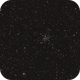 offener Sternhaufen Messier (M) 36 im Fuhrmann (Auriga),                                astrobrandy