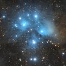 M45 Pleiades,                                Monkeybird747