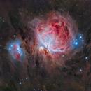 Messier 42/43 en HaLRVB,                                Georges