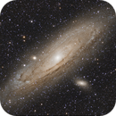 M31 with SW 72ED,                                Vincent F