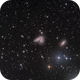NGC 4567 & NGC 4568 - The Siamese Twins (Butterfly Galaxy),                                Dhaval Brahmbhatt