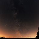 The Summer Milky Way with Jupiter,                                Florian Rünger