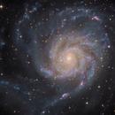 M101 Pinwheel Galaxy - my close-up,                                Arnaud Peel