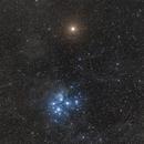 Mars and the Pleiades,                                Jarrett Trezzo