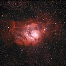 Messier 8 LRGB,                                Rino