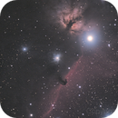 Flame and Horsehead,                                jazzsky