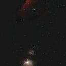 Wide-Field M42 to Horsehead Nebula,                                walkman