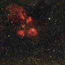 Cat's Paw Nebula (SH2-8),                                Ray Heinle