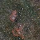 Heart and soul Nebula,                                Olivier
