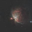 M42 - Orion Nebula,                                guvenozkan