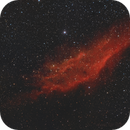 NGC1499 with old russian lens,                                Arno Rottal