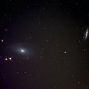 Skycamper's M81 and M82,                                Randall Evans