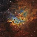 NGC 6823,                                Mirk