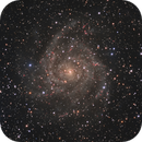 IC 342 (Caldwell 5) - the Hidden Galaxy in Camelopardalis,                                Steve Milne