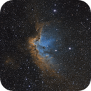 NGC7380 Wizard Nebula SHO,                                Kyle Desrosier