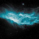 Blue California nebula,                                JLastro