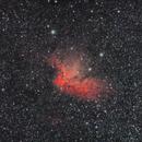 Wizard Nebula, Sh2-142, NGC 7380,                                Topographic