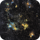 Space jellyfish? NGC1968 and many friends in SHO,                                robonrome
