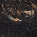 The Western Veil Nebula and Pickering Triangle,                                Mostafa Metwally